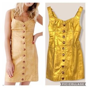 Free people Goldie leather dress 2